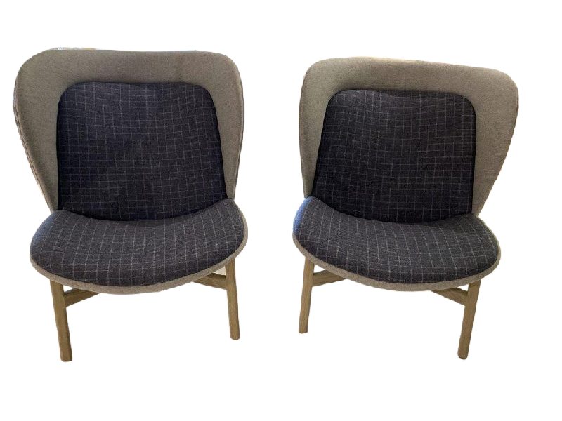 Poma Armchairs sold as a set of two