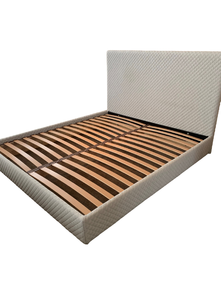 King Size Bedframe designed by Beatrix Rowe
