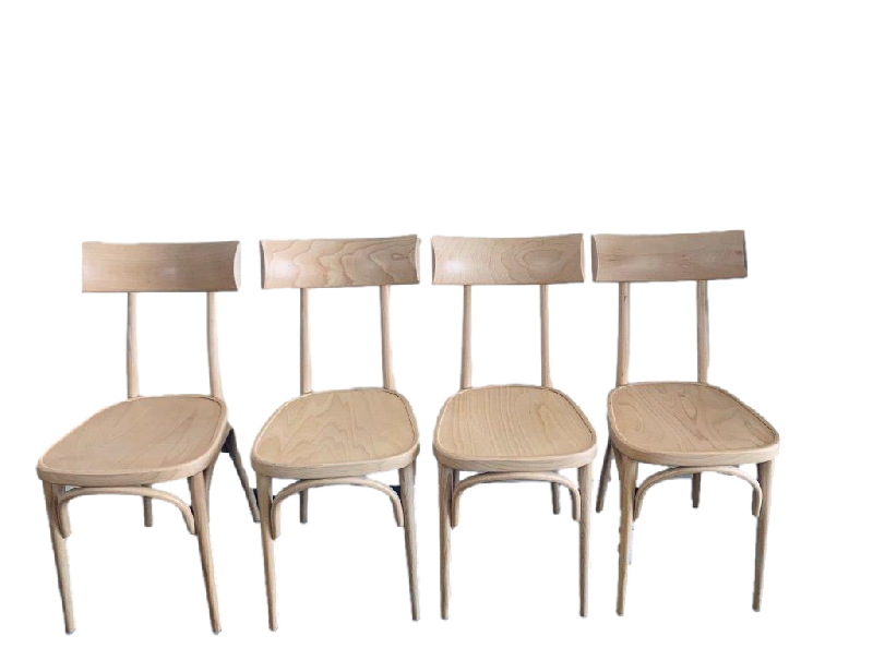 Set of 4 Thonet Hermann Dining Chairs