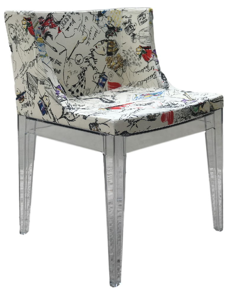 Mademoiselle A La Mode Chair Moschino