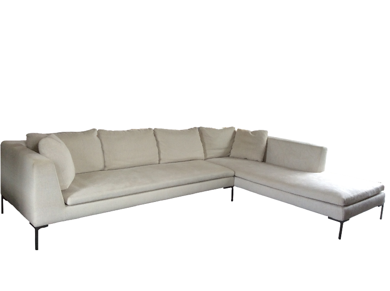 Charles Sofa with Chaise longue