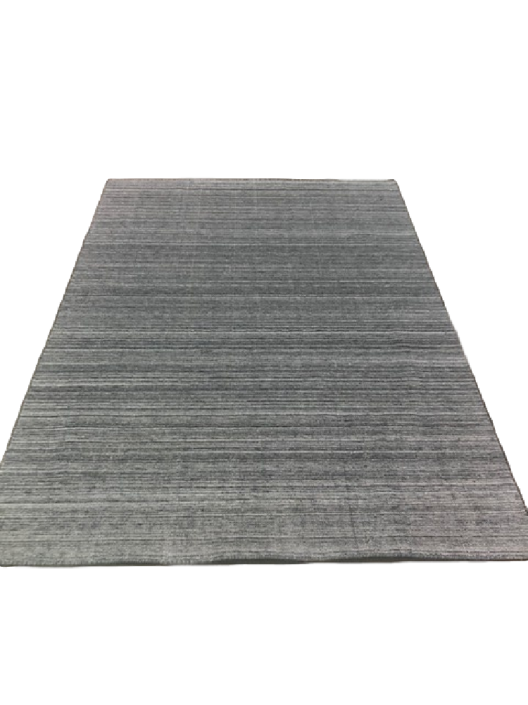 Grey Striped Rug