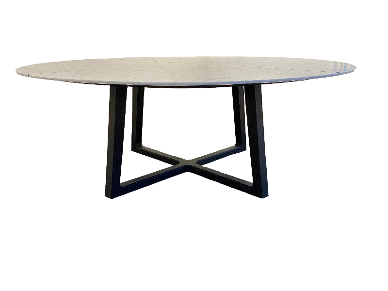 Concorde Round dining table by Emmanuel Gallina